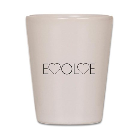 Evolve Love Shot Glass