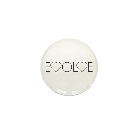 Evolve Love Mini Button