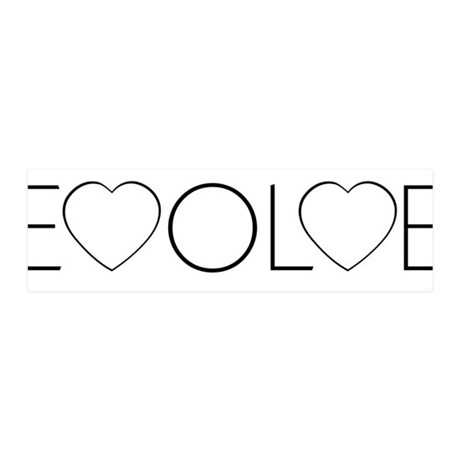 Evolve Love 42x14 Wall Peel