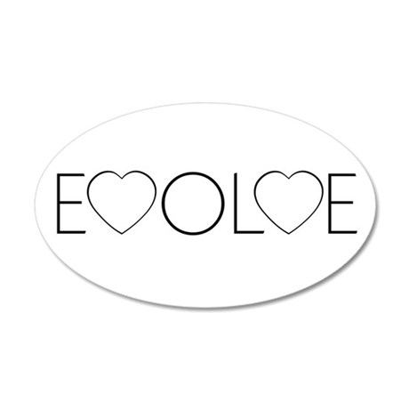 Evolve Love 22x14 Oval Wall Peel