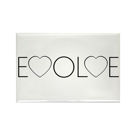 Evolve Love Rectangle Magnets ~ Pack of 100