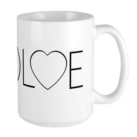 Evolve Love Large Coffee Mug