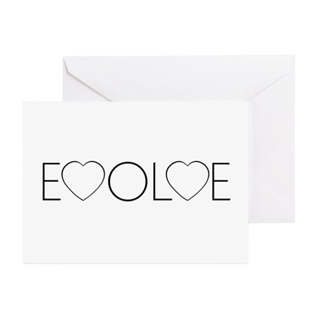 Evolve Love Greeting Cards ~ Package of 10