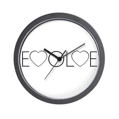 Evolve Love Wall Clock