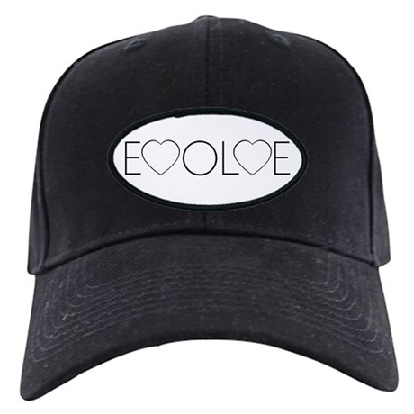 Evolve Love Black Baseball Cap