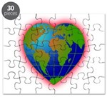 Earth Heart Puzzle