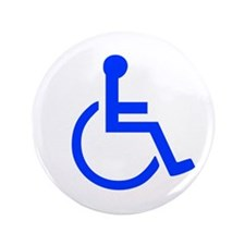 "Handicapped 3.5"" Button (100 pack)"