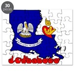 ILY Louisiana Puzzle