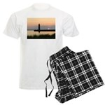 .Muskegon Breakwater Light. Men's Light Pajamas