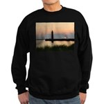 .Muskegon Breakwater Light. Sweatshirt (dark)