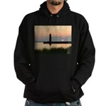.Muskegon Breakwater Light. Hoodie (dark)