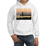 .Muskegon Breakwater Light. Hooded Sweatshirt