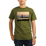 .Muskegon Breakwater Light. Organic Men's T-Shirt