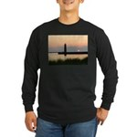 .Muskegon Breakwater Light. Long Sleeve Dark T-Shi