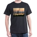.Muskegon Breakwater Light. Dark T-Shirt