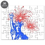 ILY Fireworks Liberty Puzzle