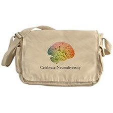 Celebrate Neurodiversity Messenger Bag