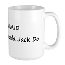 WWJD What Would Jack Do Mug