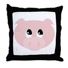 Cute Hog Throw Pillow