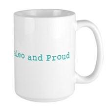Paleo and Proud - Turquoise Mug