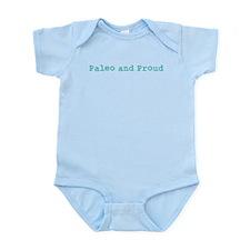 Paleo and Proud - Turquoise Onesie