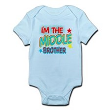 I'M THE MIDDLE BROTHER Infant Bodysuit