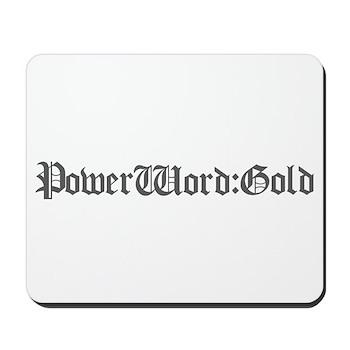 PW:G Logo - Mousepad