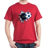 Soccer Ball Burst T-Shirt