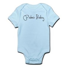 Paleo Baby - Black Onesie