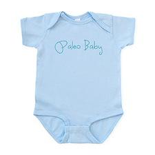 Paleo Baby - Blue Onesie