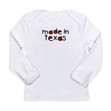 State texas Long Sleeve Infant T-Shirt