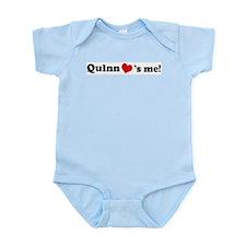 Quinn loves me Infant Creeper