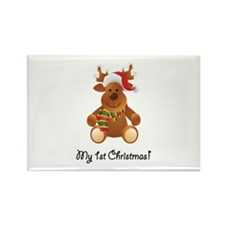 My 1st Christmas! Rectangle Magnet (100 pack)