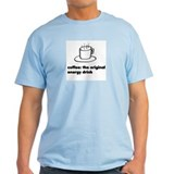 Coffee Energy Drink Ash Grey T-Shirt