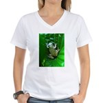 treefrog I Women's V-Neck T-Shirt