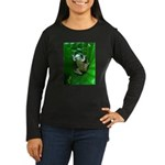 treefrog I Women's Long Sleeve Dark T-Shirt