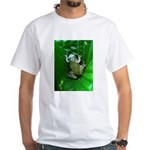 treefrog I White T-Shirt