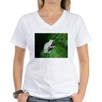 treefrog III Women's V-Neck T-Shirt