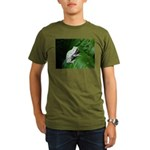 treefrog III Organic Men's T-Shirt (dark)