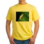 treefrog III Yellow T-Shirt