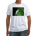 treefrog III Fitted T-Shirt