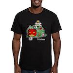 PeRoPuuu7 Men's Fitted T-Shirt (dark)