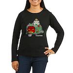 PeRoPuuu7 Women's Long Sleeve Dark T-Shirt