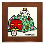 PeRoPuuu7 Framed Tile