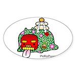 PeRoPuuu7 Sticker (Oval 50 pk)