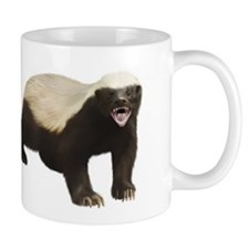 Honey Badger Small Mugs