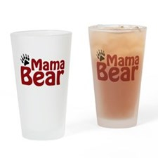 Mama Bear Claw Drinking Glass