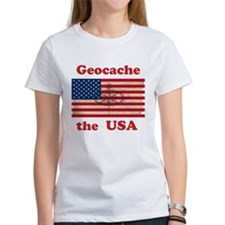 Geocache the USA Tee