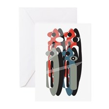 Cute Letterform Greeting Cards (Pk of 10)