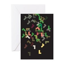 Letter L Greeting Cards (Pk of 10)
